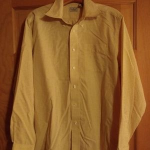 LL Bean Men's Medium Button Down Shirt